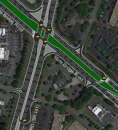 141 State Bridge Thru-U - Left Turns to be Eliminated