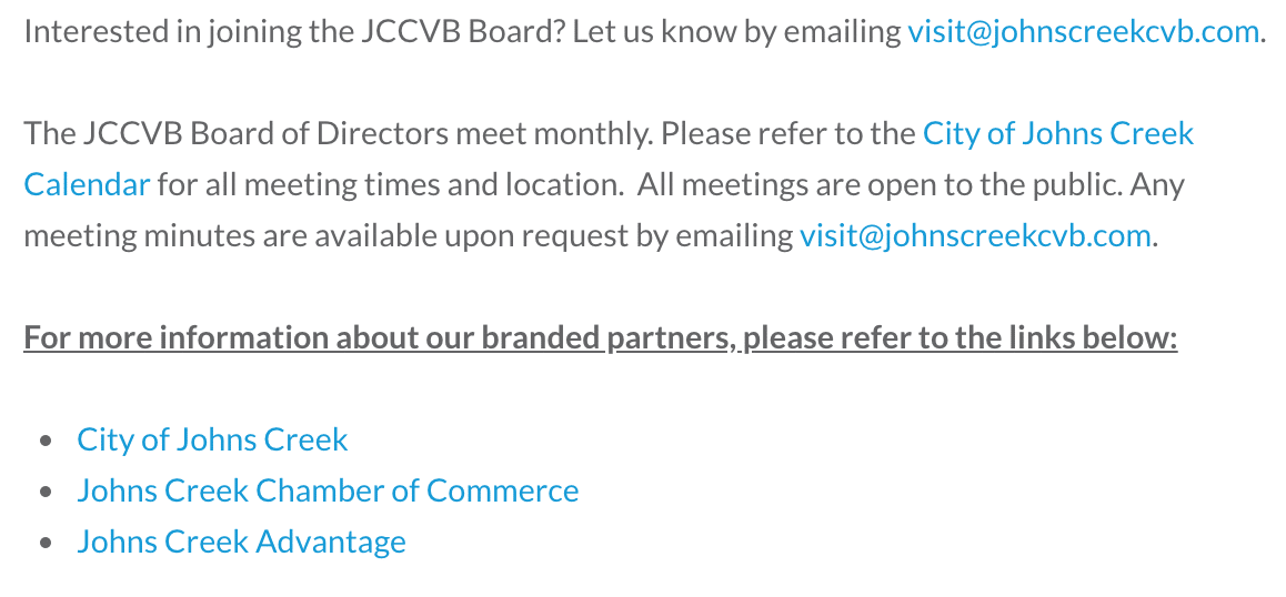 CVB Website