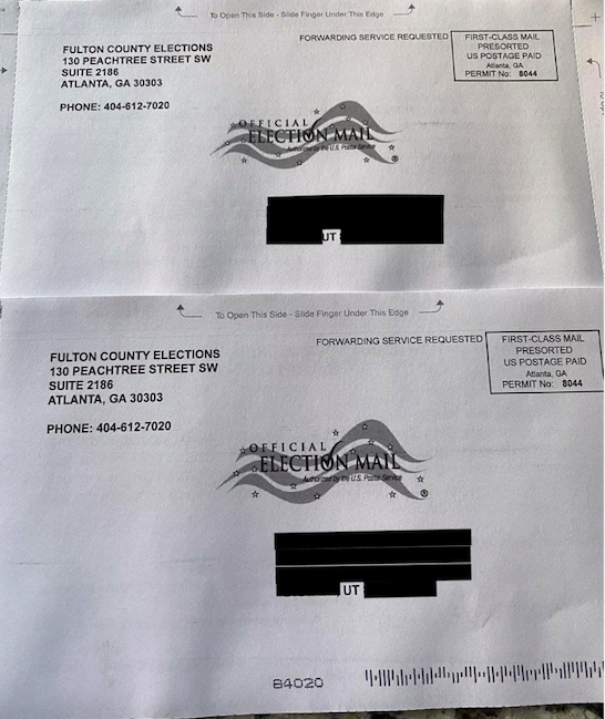 Former GA Residents In Utah Receiving Absentee Ballots Without Requesting